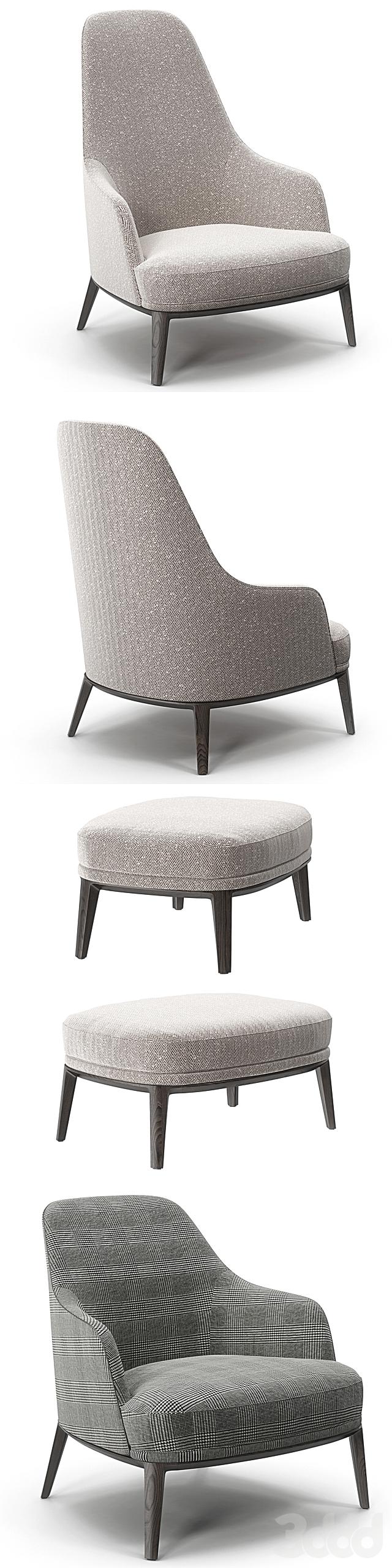 Poliform Jane Large, Lounge armchairs set