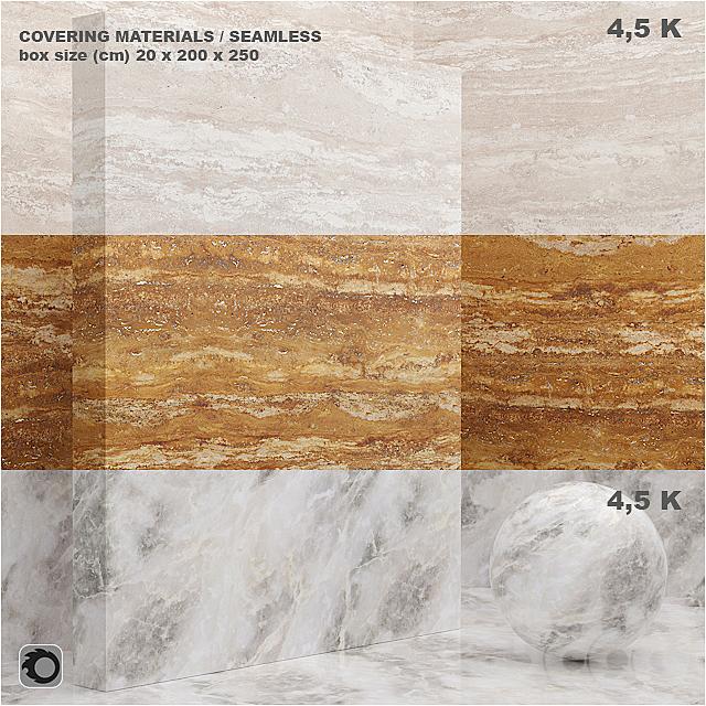 Материал (бесшовный) - покрытие, мрамор, штукатурка set 44