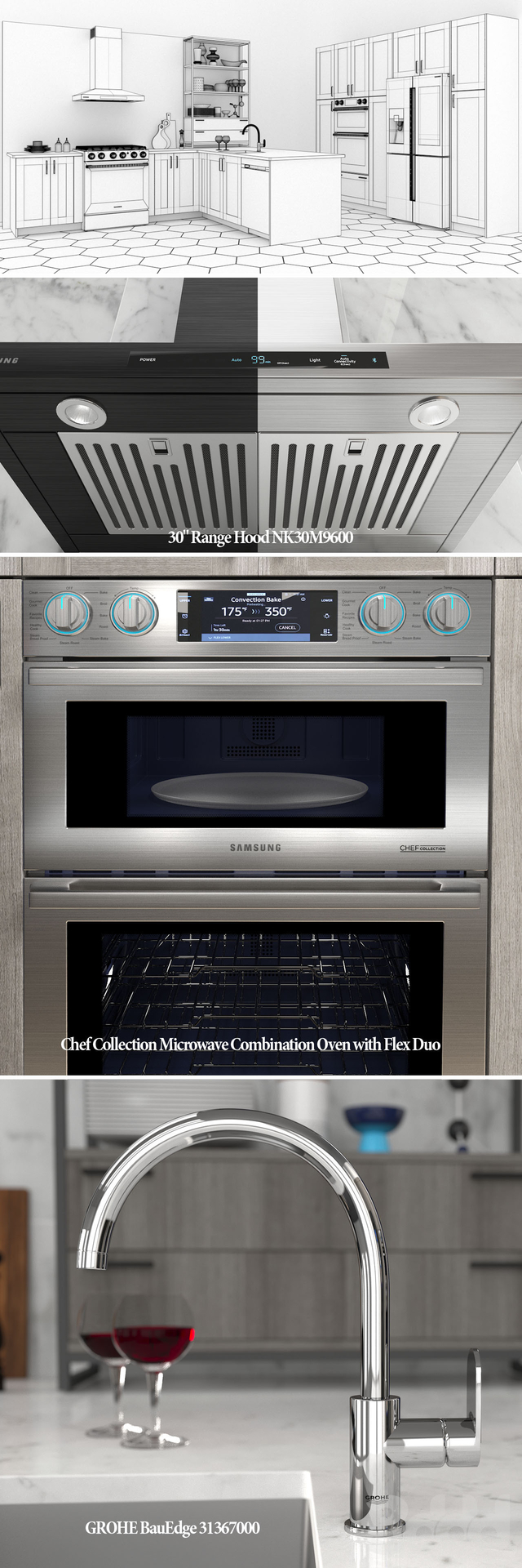 Кухня Samsung Chef Collection
