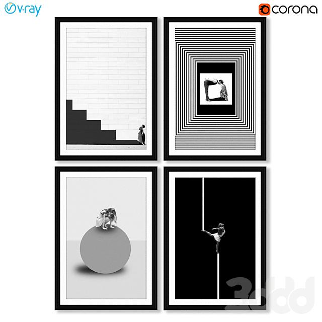 Серия дизайнерских постеров от Erika Zolli.