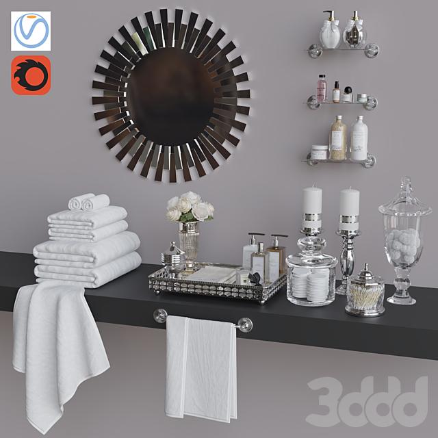 Декоративный набор для санузла 1