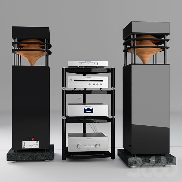 Комплект аудио аппаратуры класса Hi-End