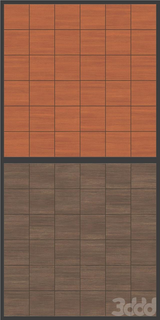 Акустические декоративные панели 4 видов, набор 012