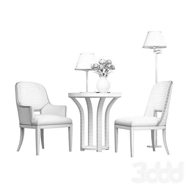 THOMAS & GRAY - Churchill Chair ( Living room set )