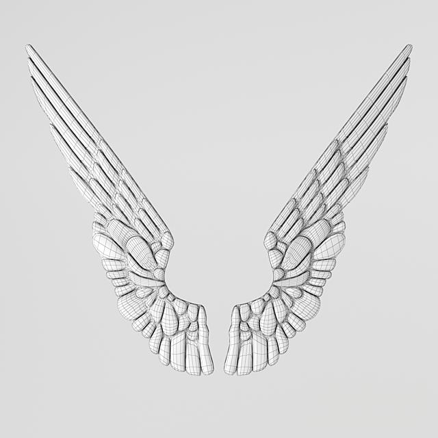 ДЕКОР GILT ANGEL WINGS