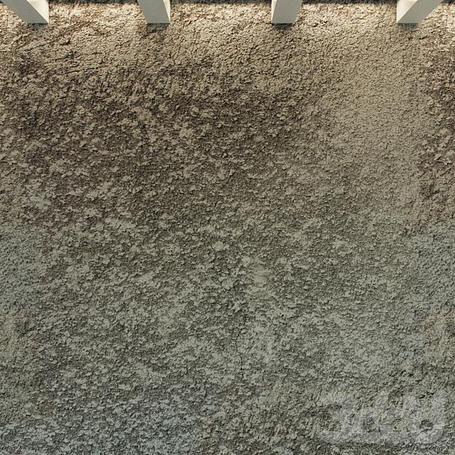 Бетонная стена. Старый бетон. 32
