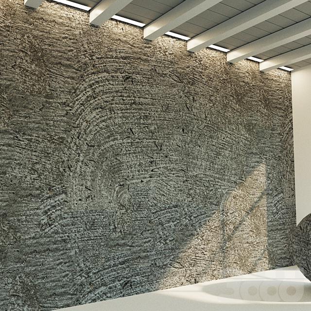 Бетонная стена. Старый бетон. 33