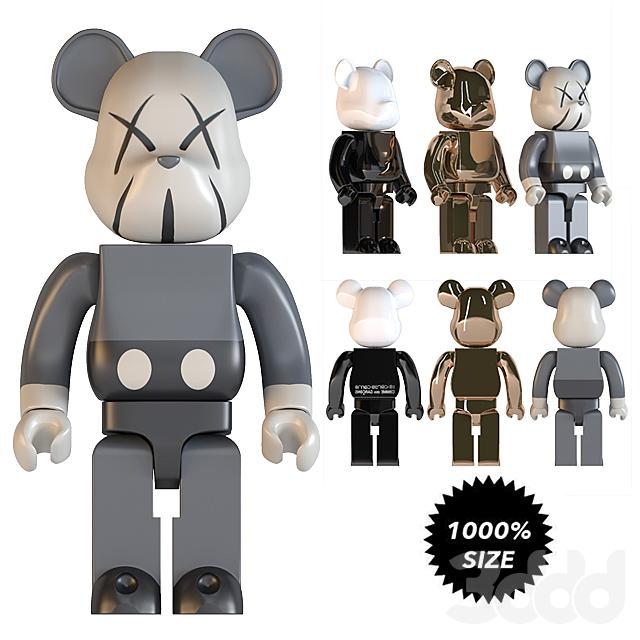 bearbrick size 1000%