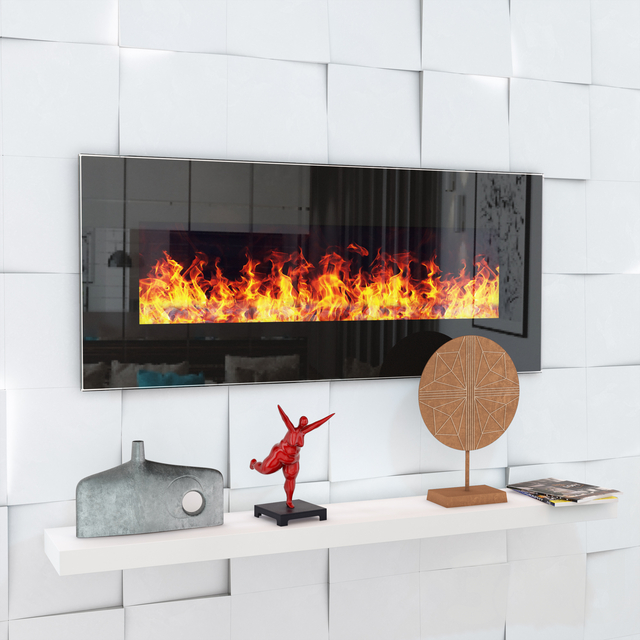 Fireplace Genius 100 with audio system