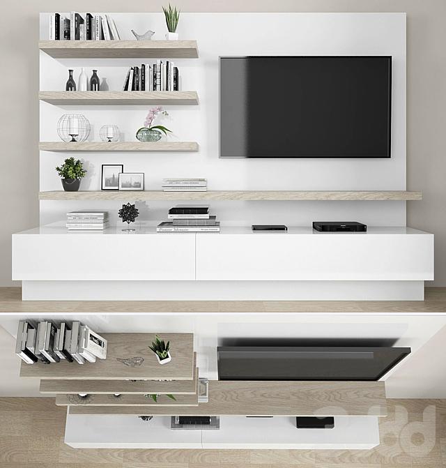 TV stand set 06