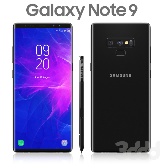 Samsung Galaxy Note 9 Black