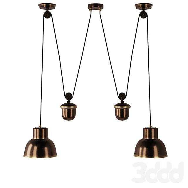 Латунный светильник ART 2362 от Pikartlights
