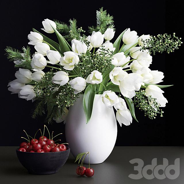 Букет цветов в вазе 25