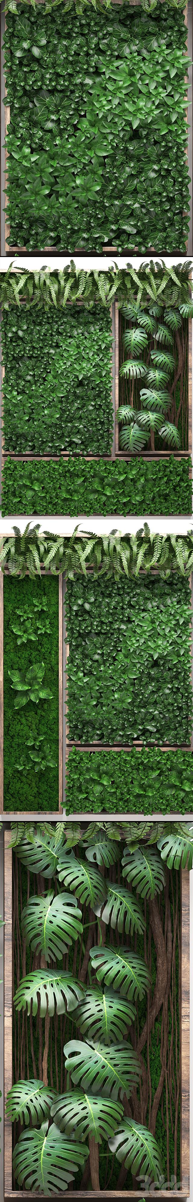 Vertical garden 22. Пять отдельных модулей
