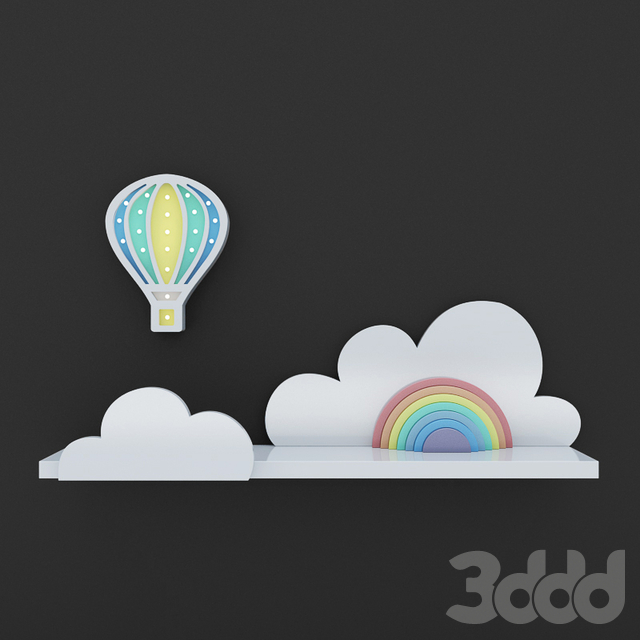 Детский ночник Воздушный шар