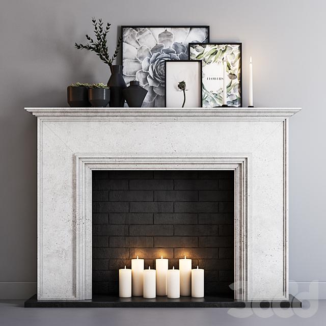 Decorative fireplace 7