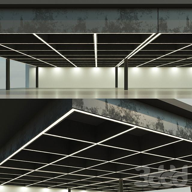 Балочный потолок. Перекрытие. 15