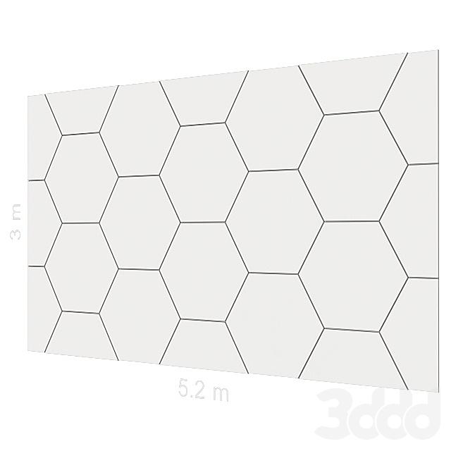 Декоративная стена 15.