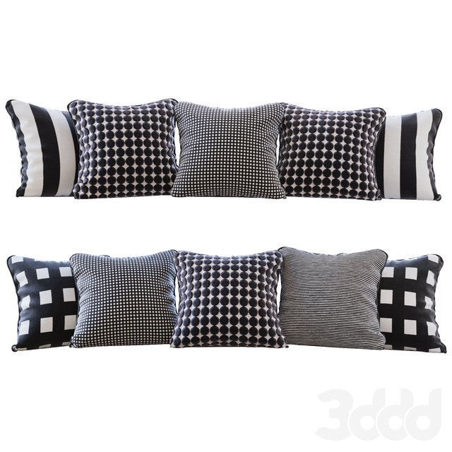 Набор подушек с тканями Jab Anstoetz Fabrics (Pillows Jab Anstoetz Fabrics 01 YOU)