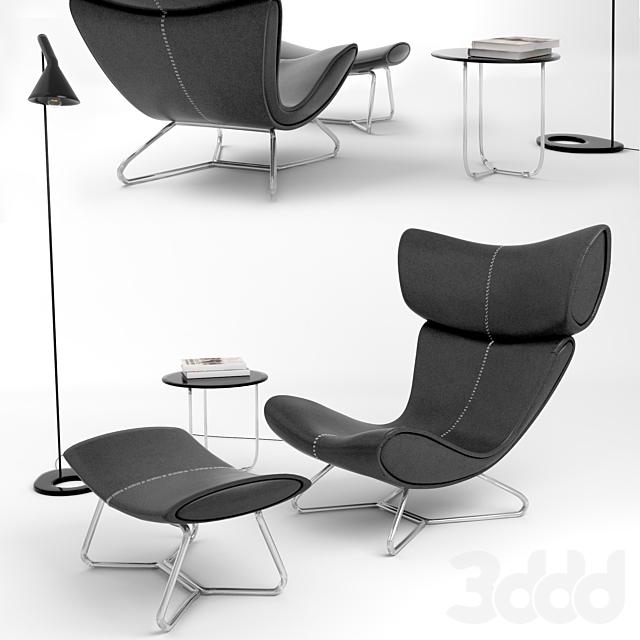 Imola Lounge Chair Replica Boconcept Set