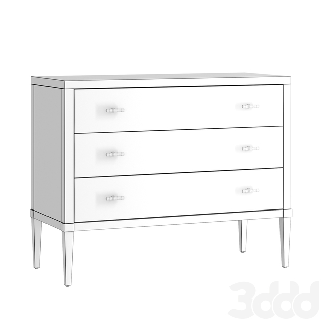 Комод Hooker Furniture Cynthia Rowley Parker Striped