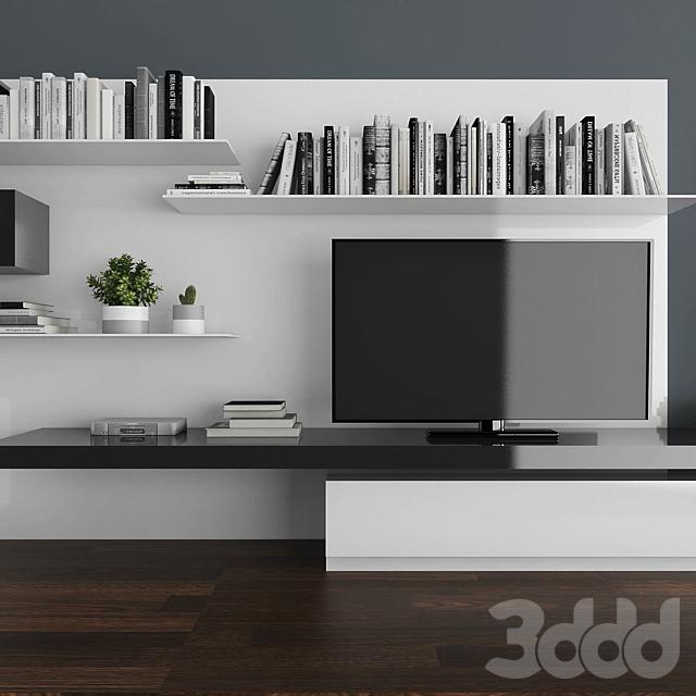 TV stand set 018