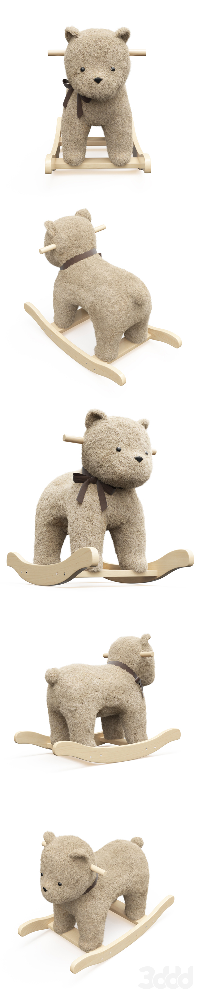Bear Plush Rocker