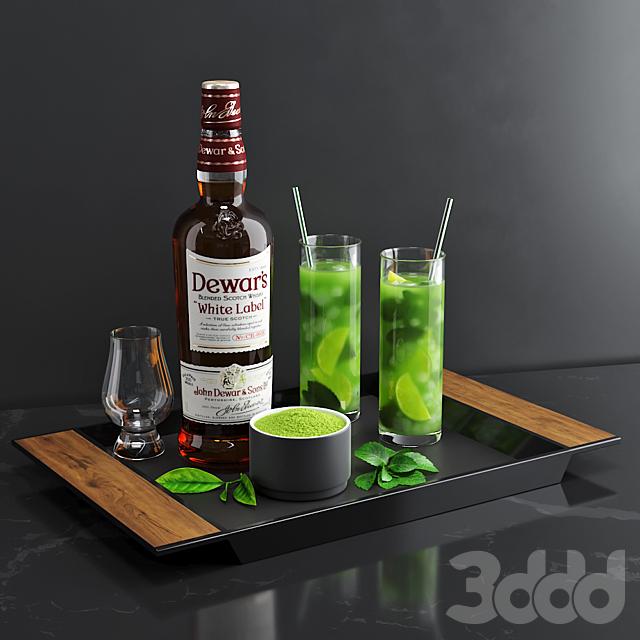 Matcha Cocktail Set