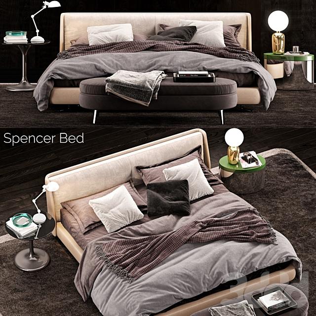 Minotti Spencer Bed 2