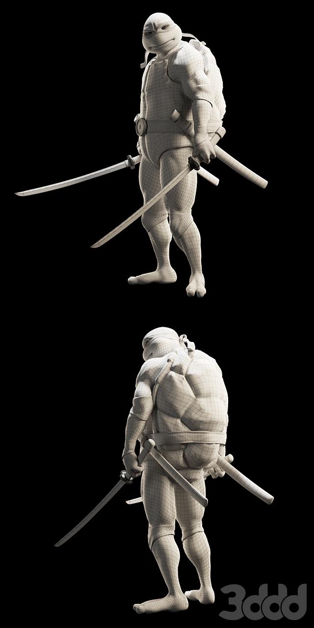 Черепашка Ниндзя - Леонардо