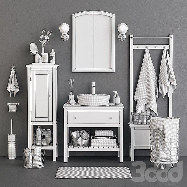 Open Hemnes Bath Set