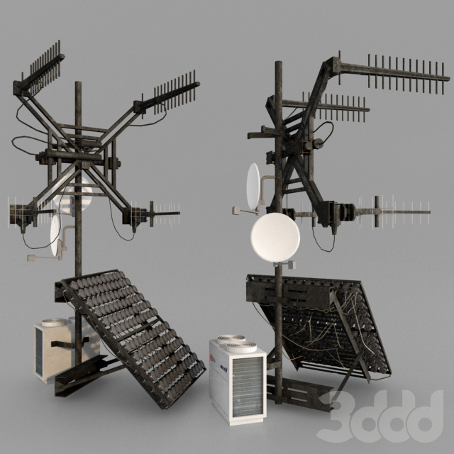 Спутниковая антенна, радио
