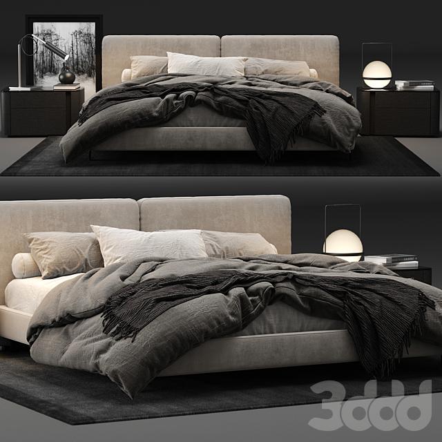 Minotti Tatlin Bed