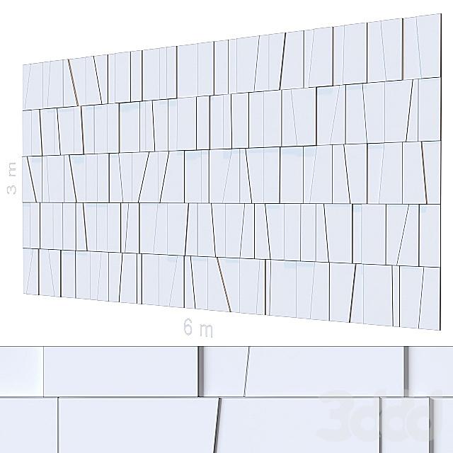 Декоративная стена 108.