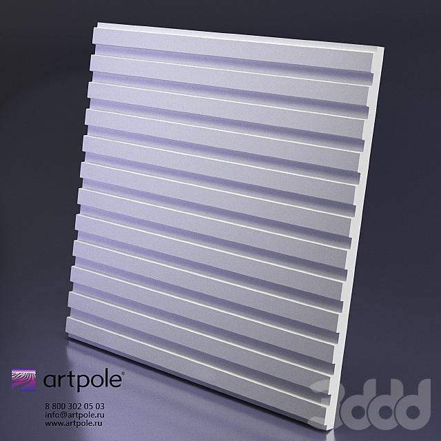 Гипсовая 3d панель Vector от Artpole