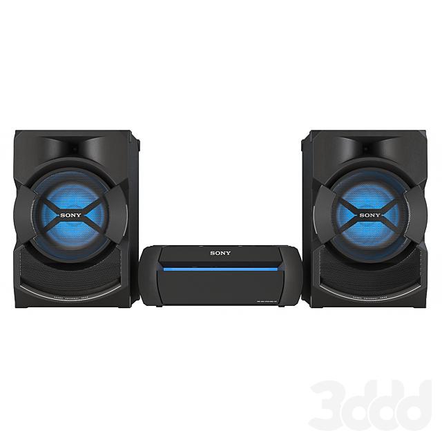 Музыкальный центр Sony Shake X10D