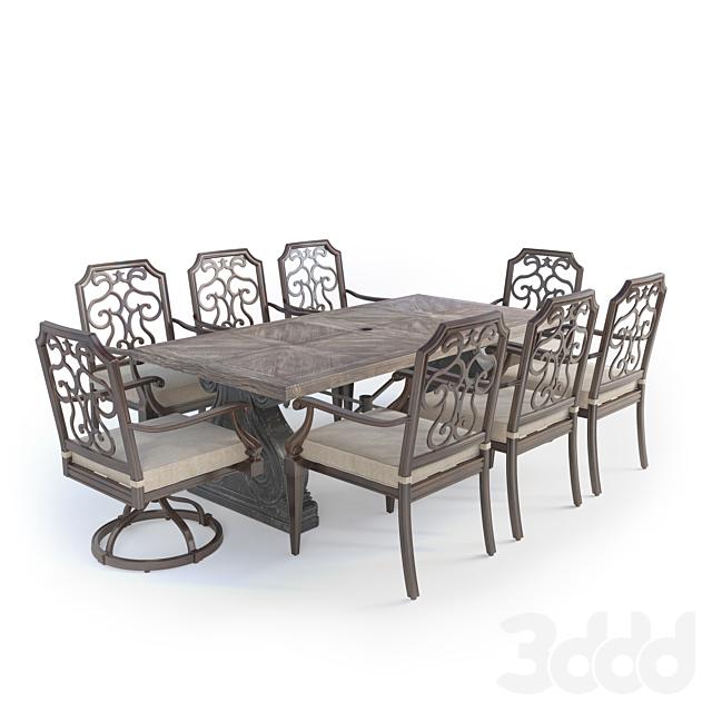 gabrielle dining set