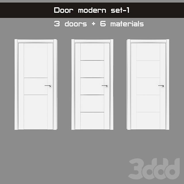 Door modern set-1