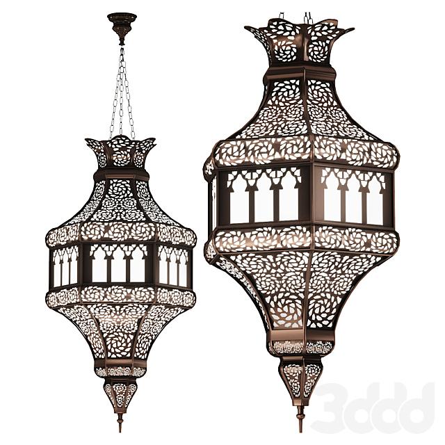 Марокканский подвесной светильник арт.14