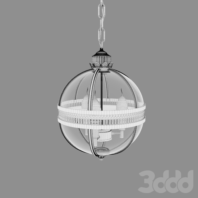 Umeiluce globe black \ Lantern residential LOFT3043-BL