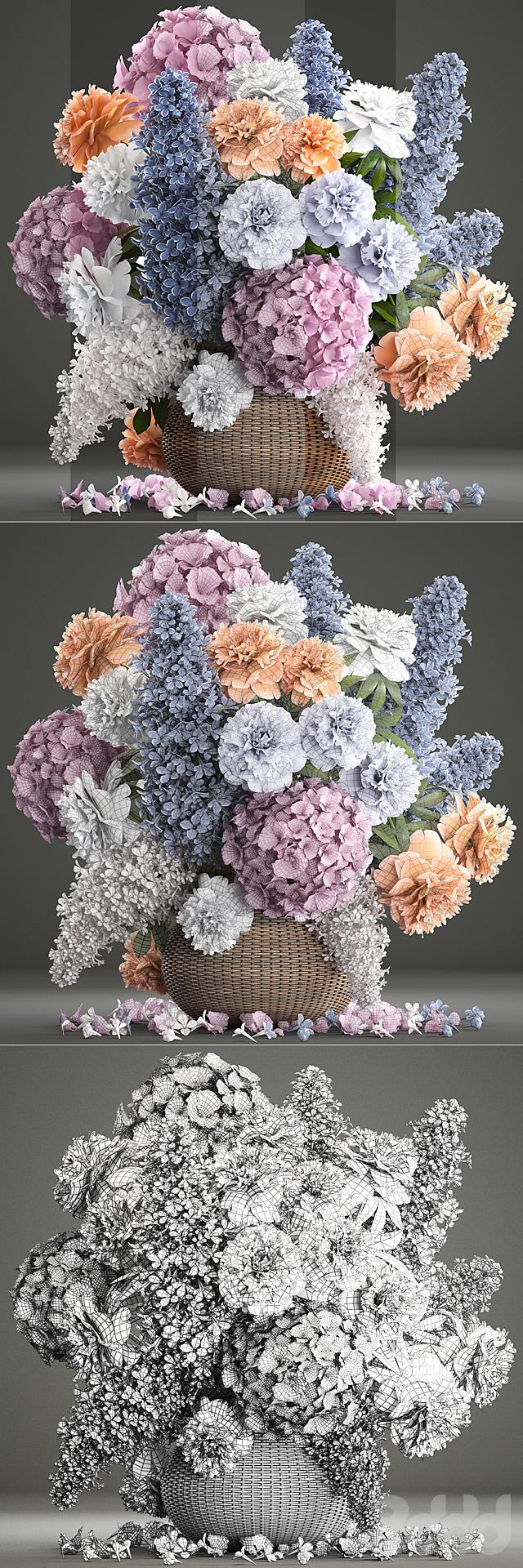 Букет цветов 84.