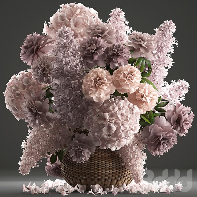 Букет цветов 85.