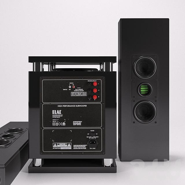 Сабвуфер ELAC SUB 2070/ ELAC WS 1665