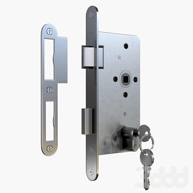 Euro Profile Cylinder Barrel Lock with keys