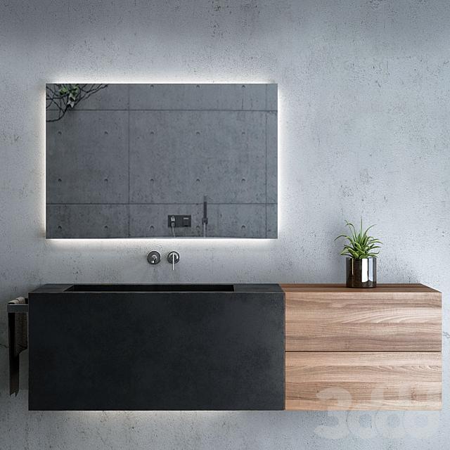 Bathroom Set / Мебель и декор для ванной комнаты 03