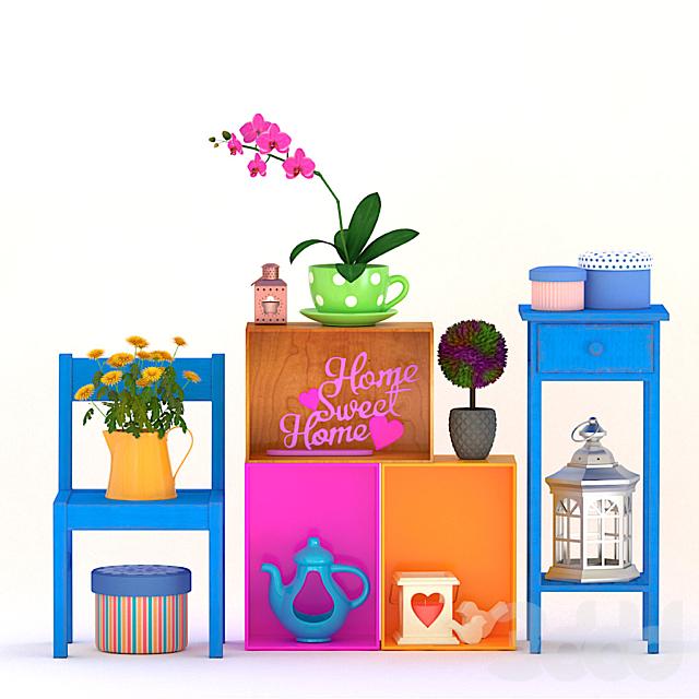 Набор декора Sweet home