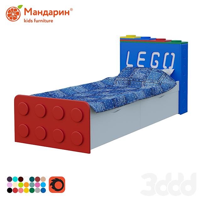 Кровать подростковая с двумя ящиками