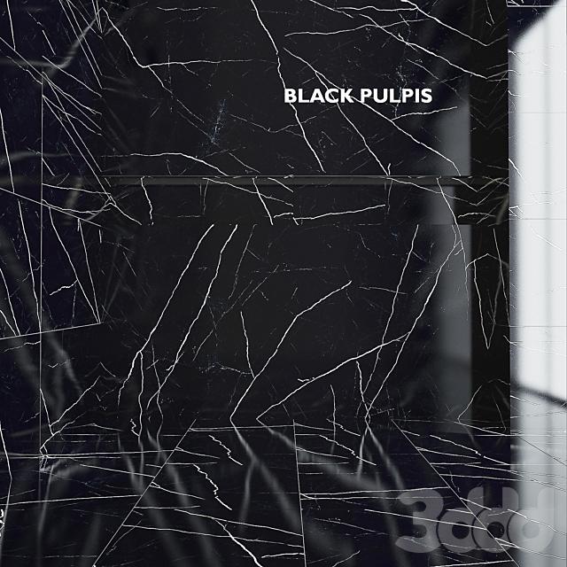 Tubadzin Monolith Black Pulpis