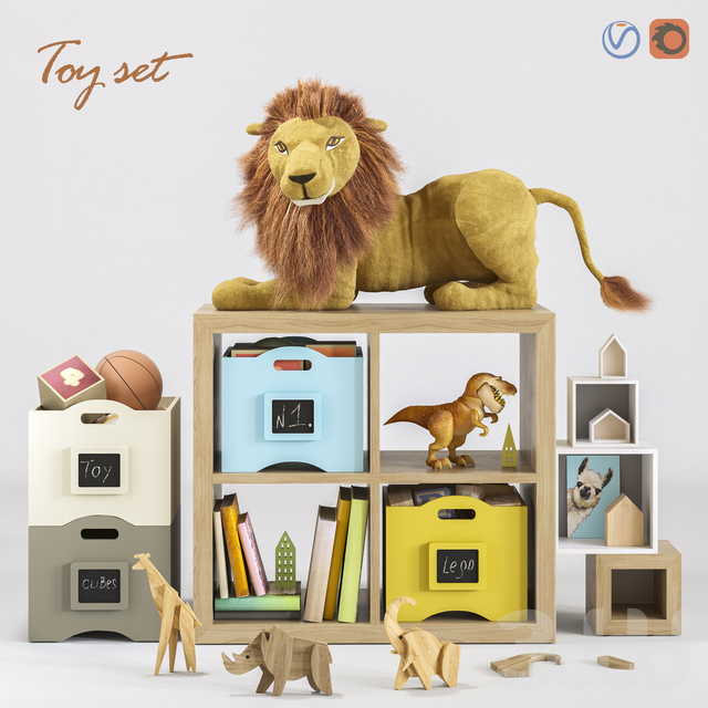 Toys and furniture SET 46