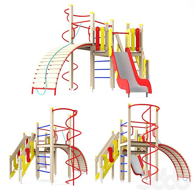Детский игровой комплекс ксил 7